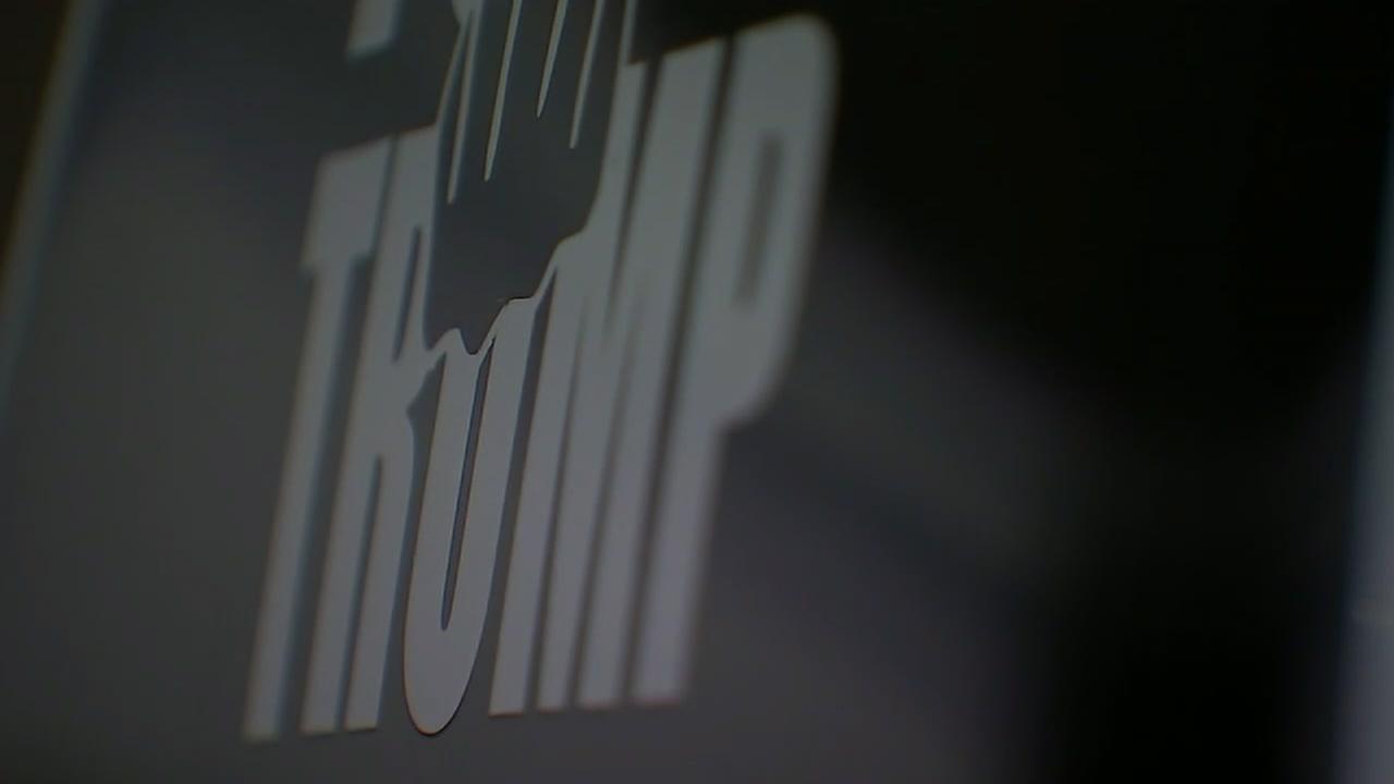 Couple talks about viral F-Trump sticker