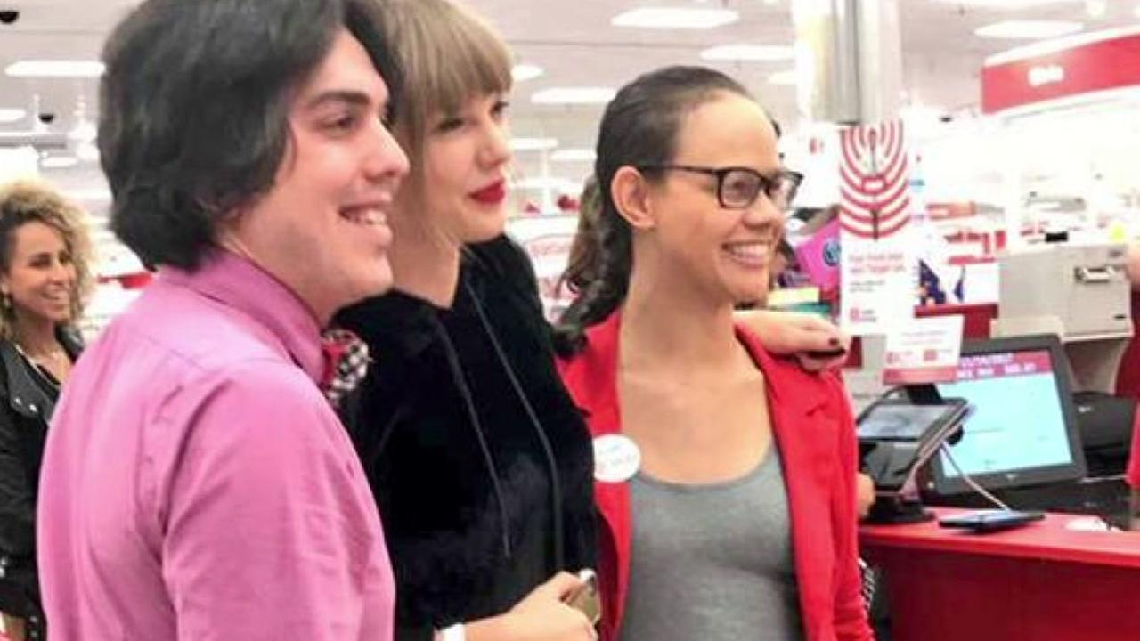 Taylor Swift shocks Target shoppers while buying album