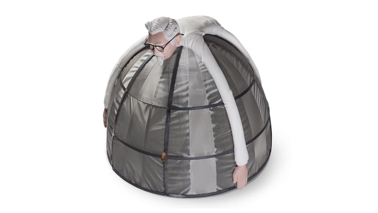 KFC selling internet escape pod for $10,000