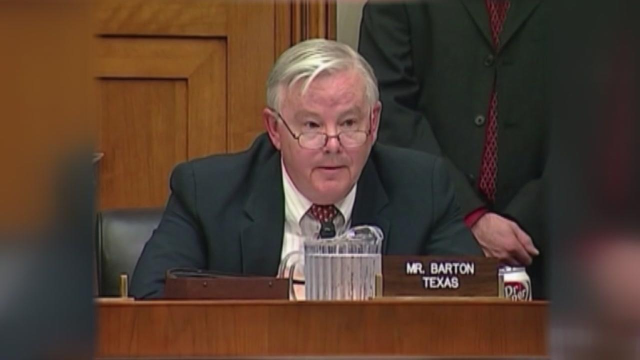 Congressman Barton may be victim of revenge porn