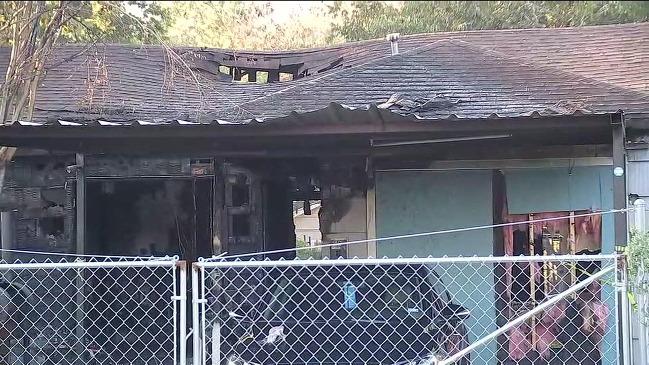 Mother killed and son severely burned in northwest Houston house fire