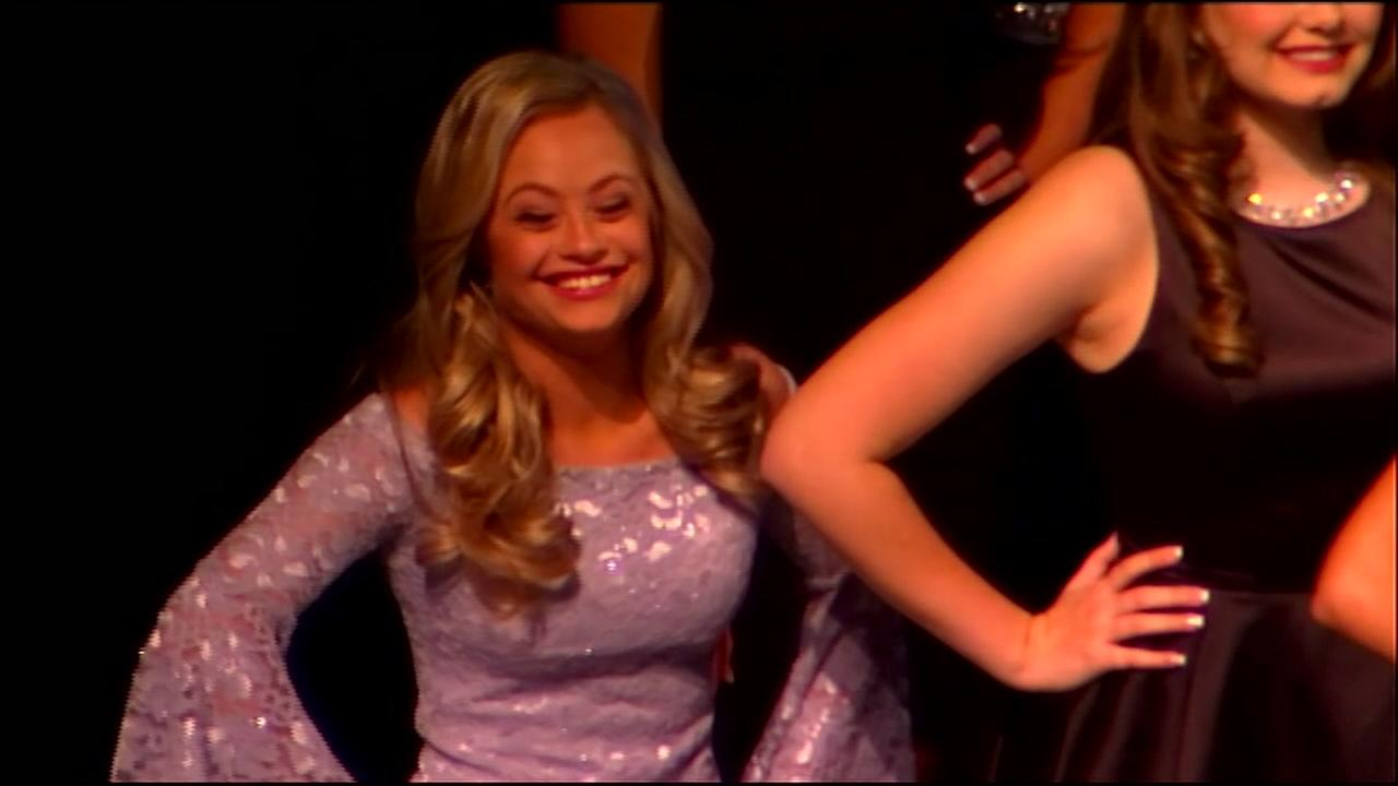 First woman with Down syndrome competes in Miss USA