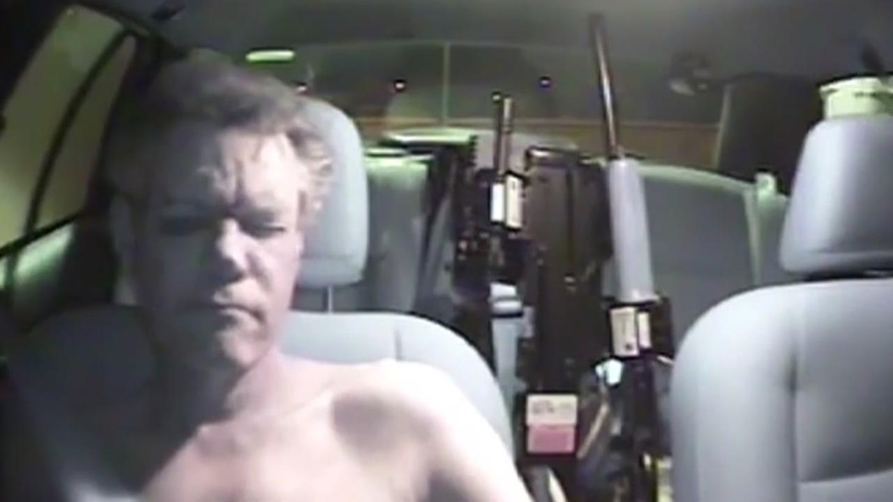 Dashcam video of 2012 Randy Travis arrest