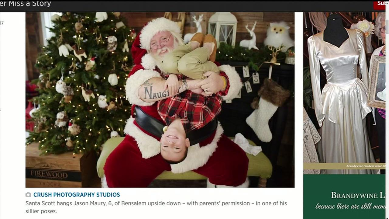Shopping mall Santa asked to tone it down