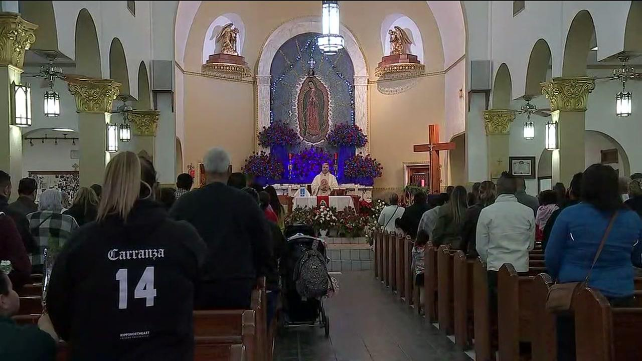 Catholics in Houston mark Our Lady of Guadalupe Day