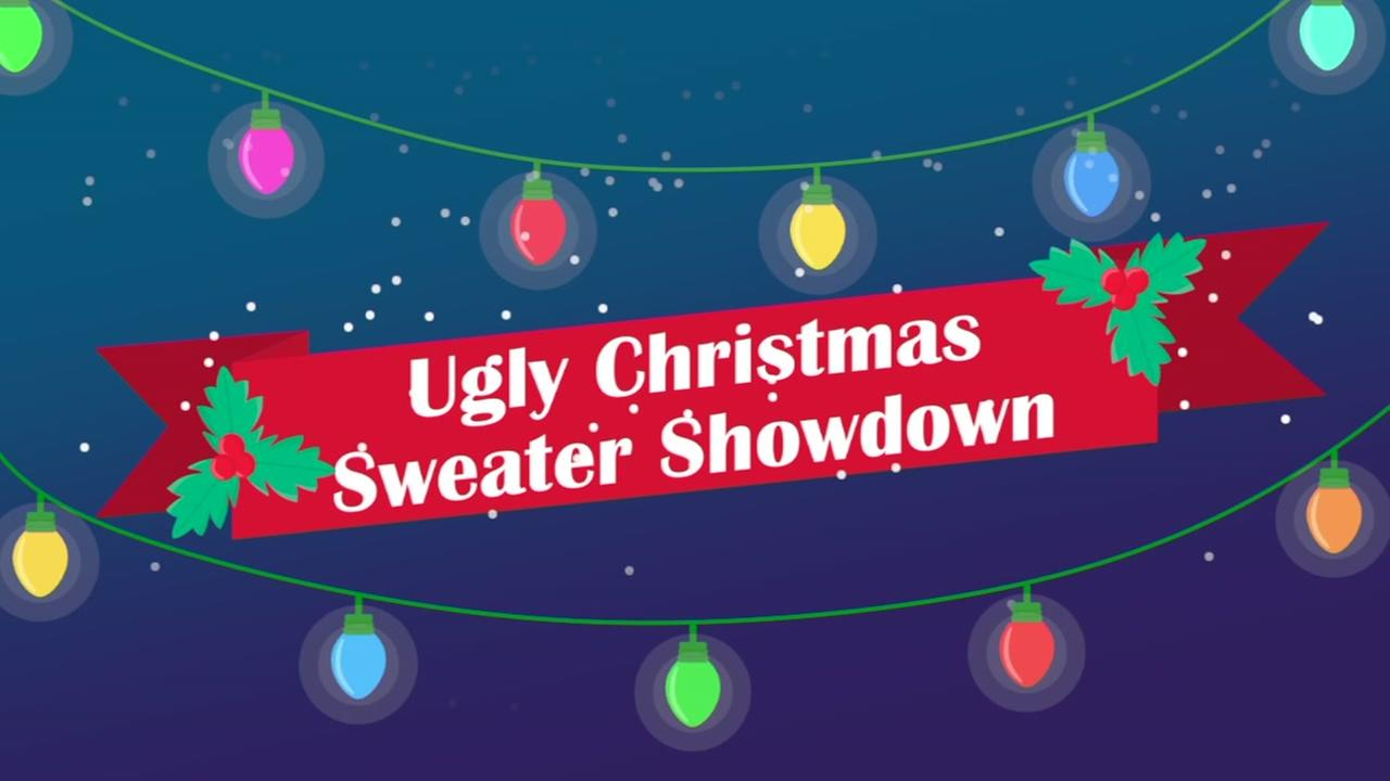 Christmas Sweater Showdown