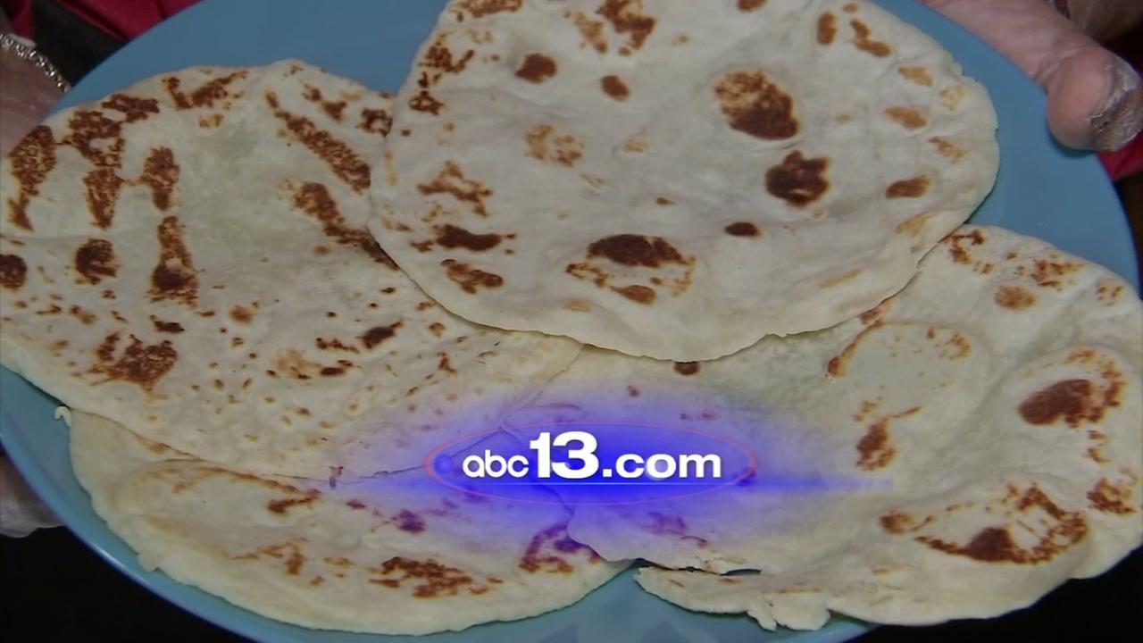 Make your own fresh tortillas with this recipe
