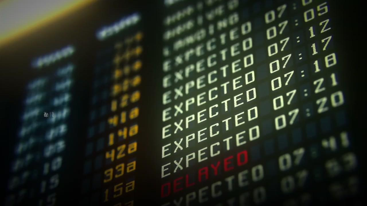 Stranded at the airport? Tips on surviving a flight delay or cancellation