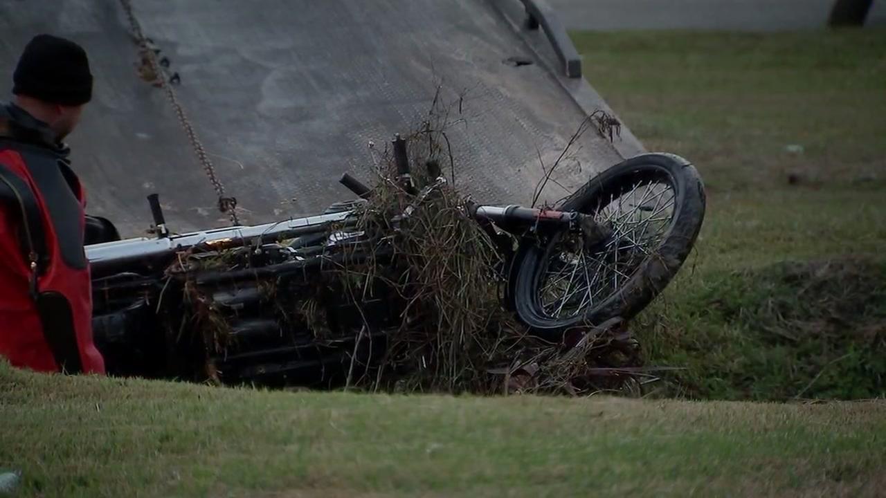 Fatal motorcycle crash