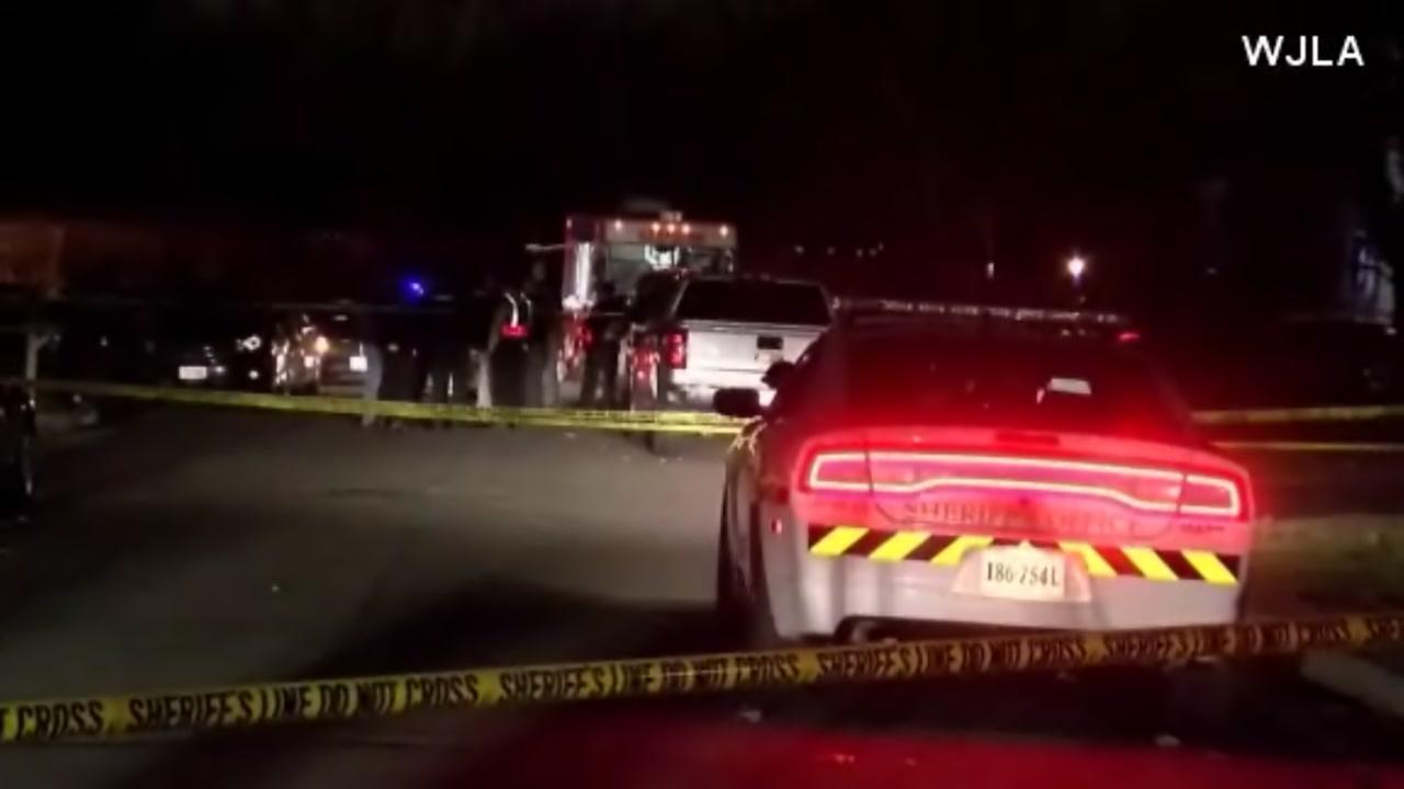 2 deputies shot by suspect in Virginia domestic dispute