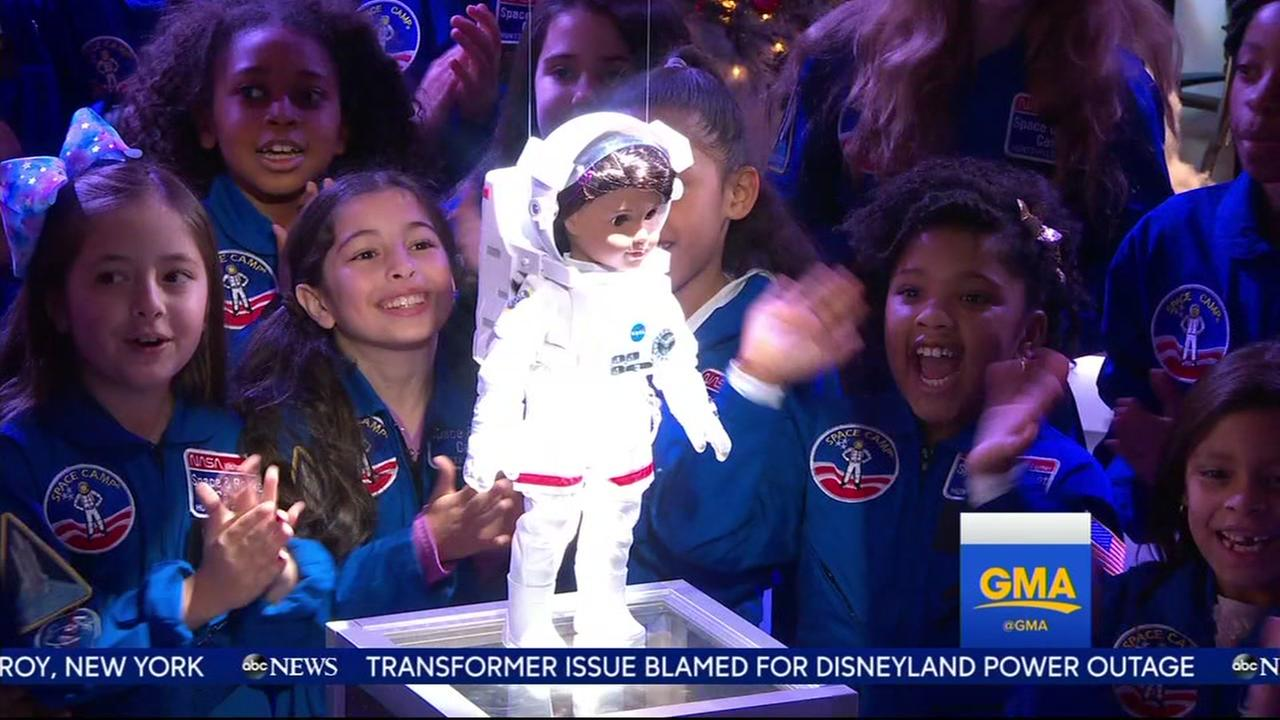 American Girl released new astronaut doll