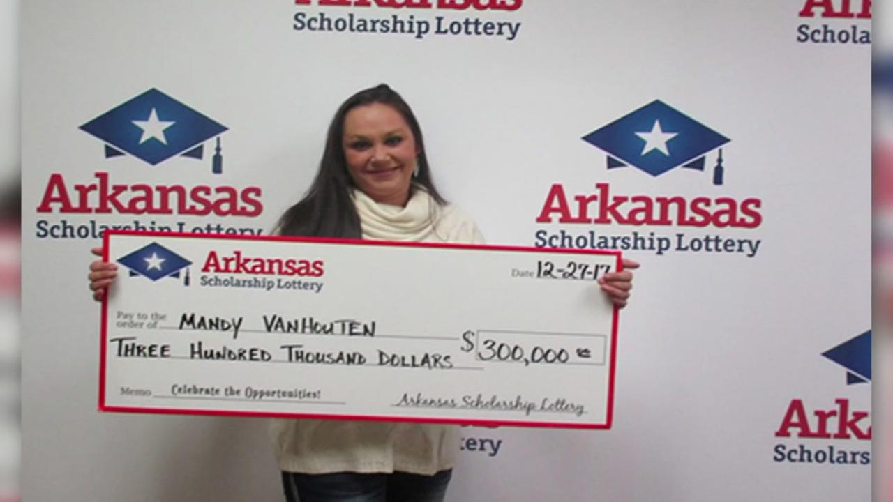 Waitress says co-worker took off with lottery winnings