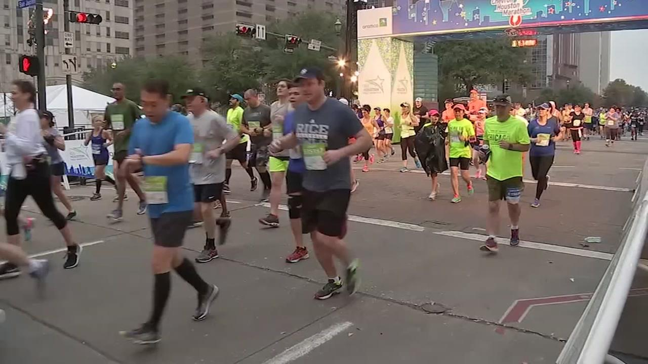 Five ways to participate in the Chevron Houston Marathon