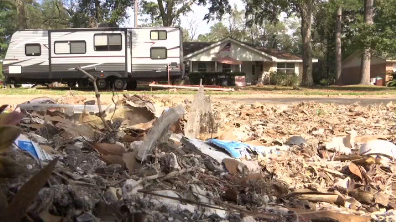 FEMA trailers not allowed in some neighborhoods
