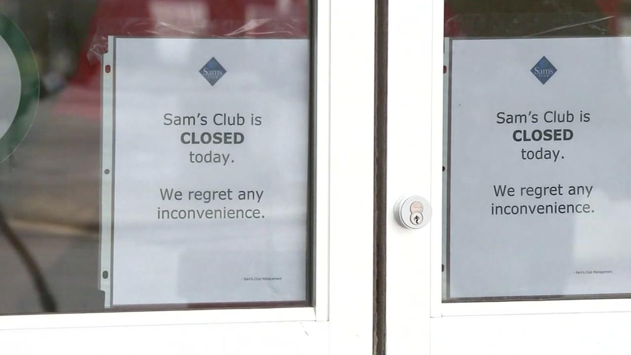 Sams Club closed