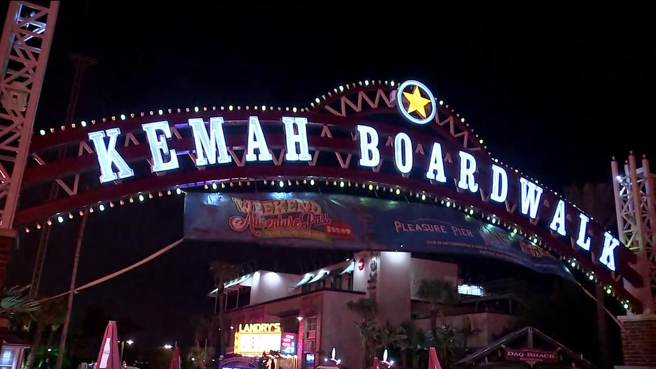 Partial evacuation of Kemah Boardwalk as power outage takes place
