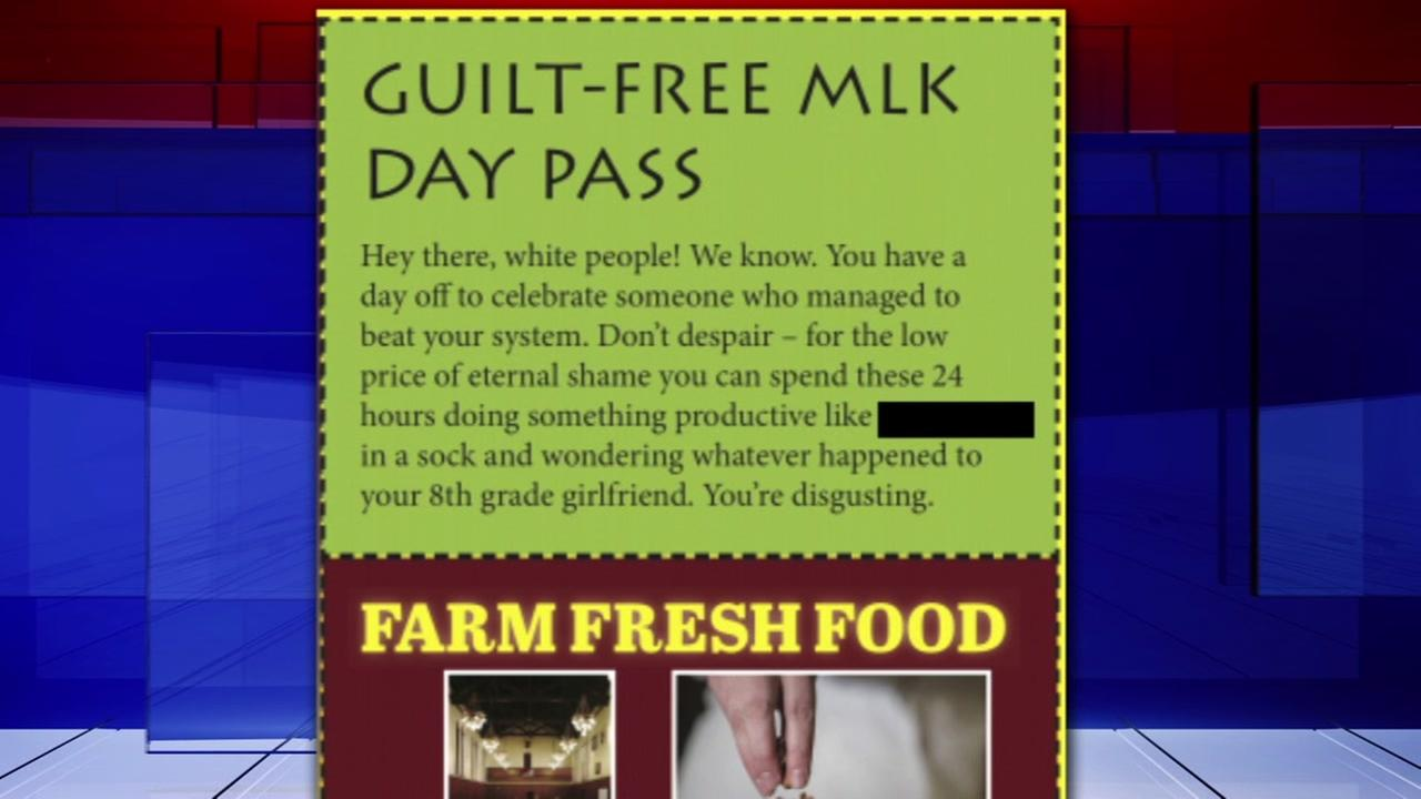 Satirical coupon in newspaper run by Rice students getting backlash