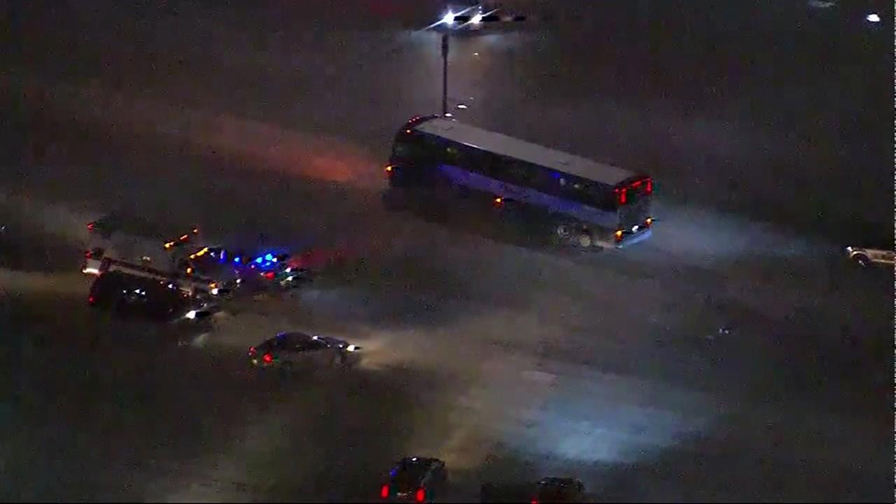 Man hijacks Greyound bus in Wisconsin