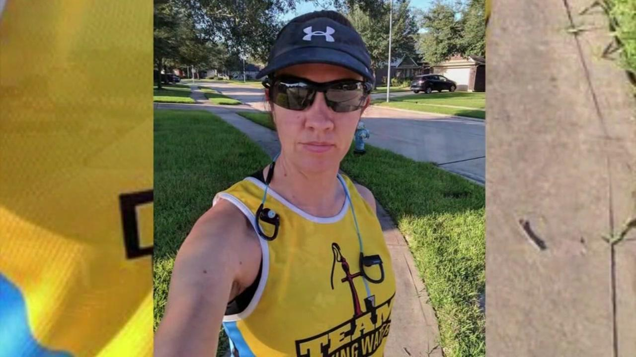 Drunk driving victim uses Houston 1/2 marathon comeback story to help others