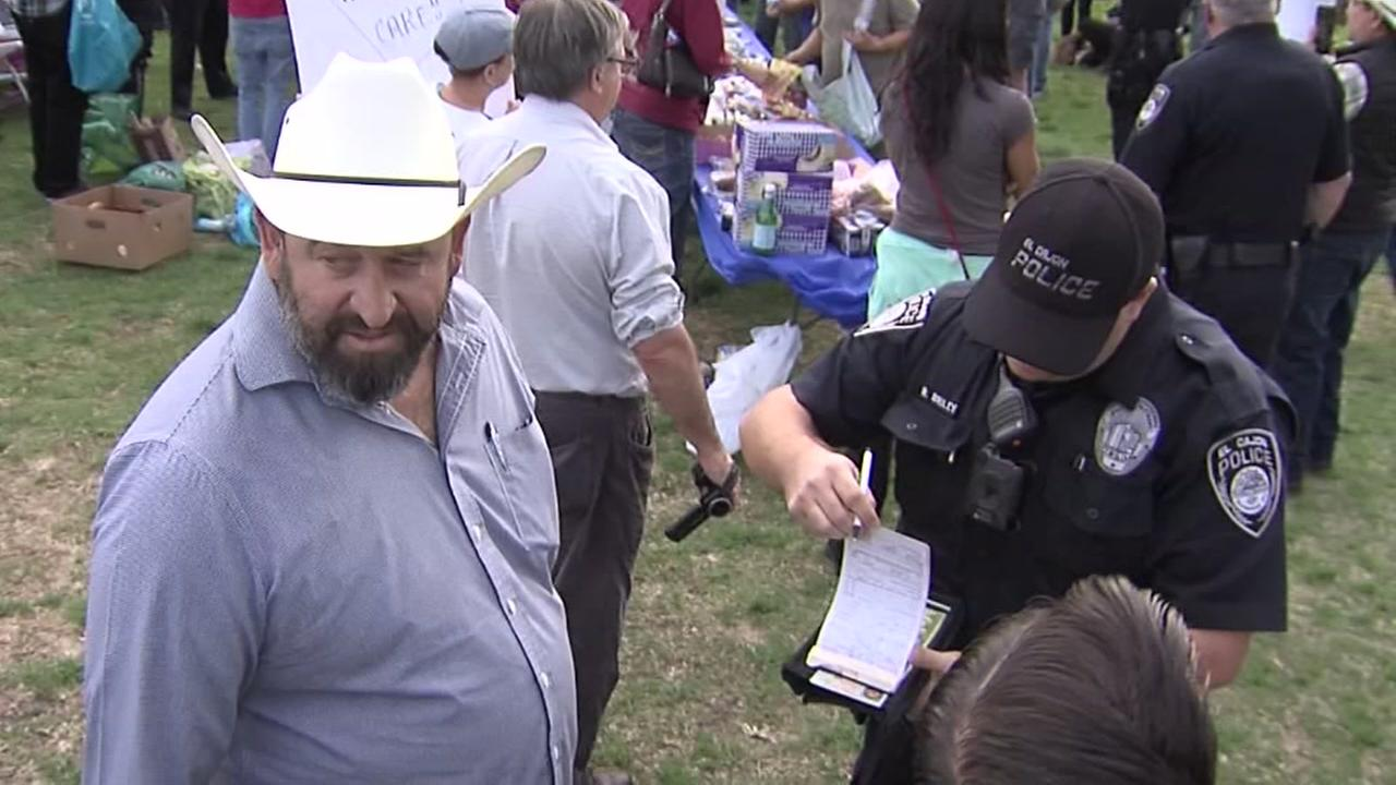 People arrested for feeding homeless