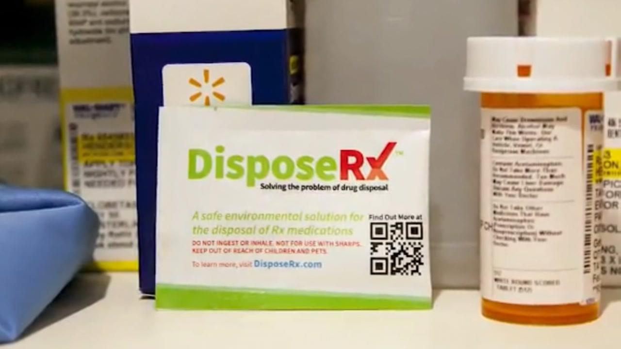 Walmart launches free opioid disposal packets