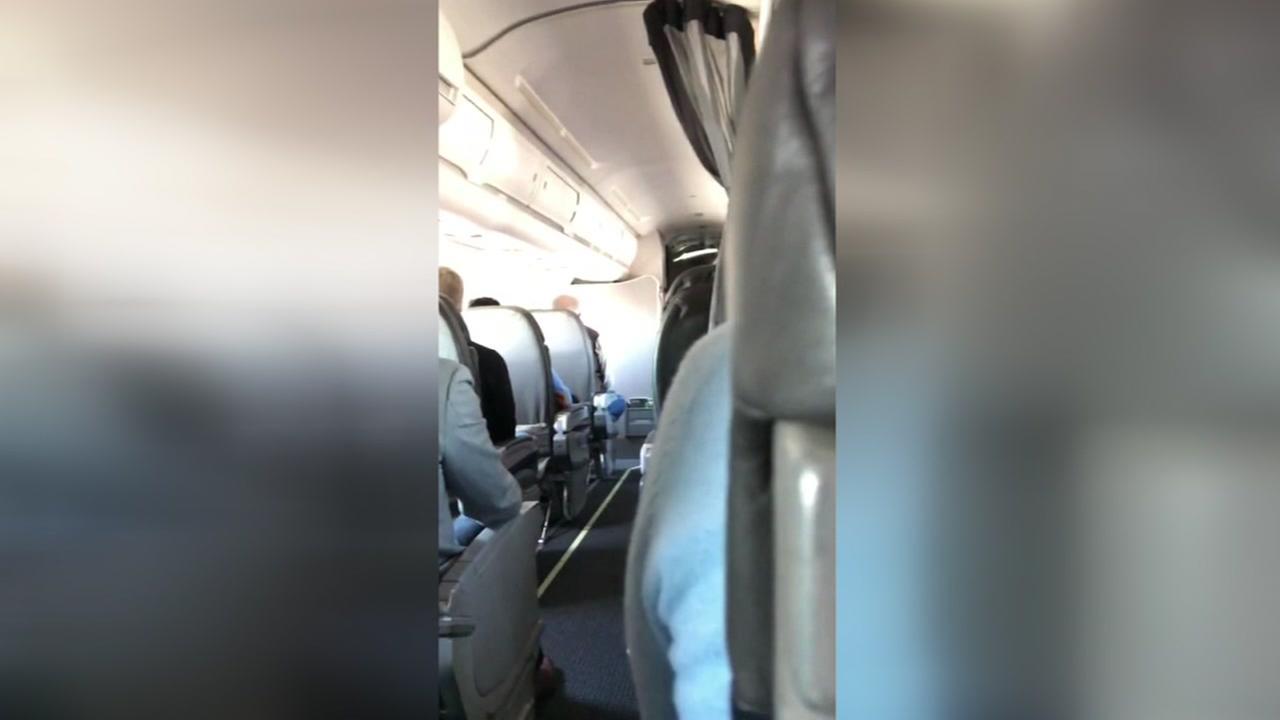 Passengers prepare for bumpy ride