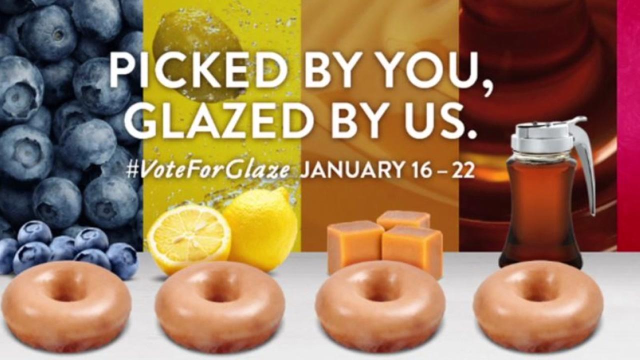 Krispy Kreme asking fans to vote on new doughnut flavor