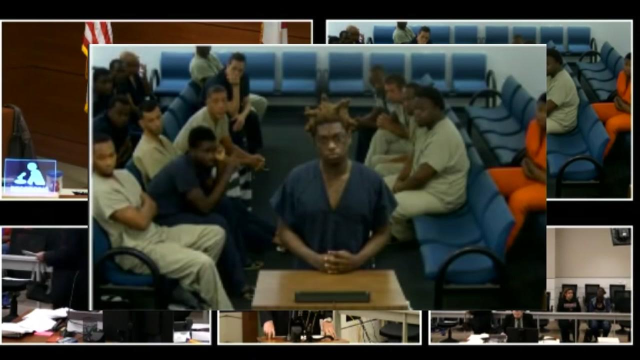 Kodak Black appears in court after his arrest on gun charges