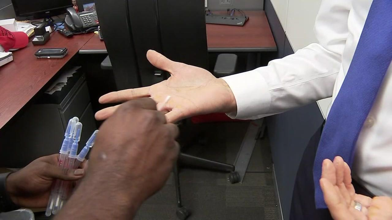 ABC13 staff come clean with their level of hand bacteria