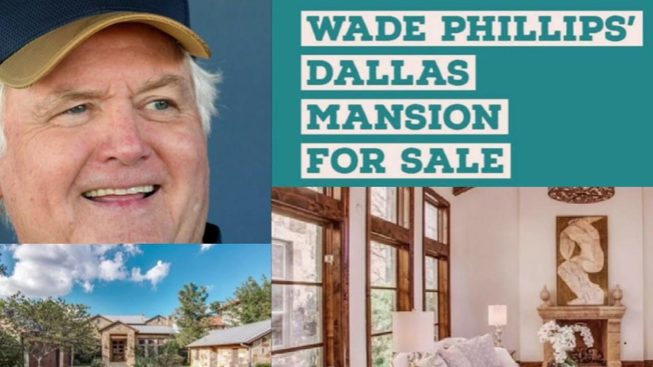 Former Texans coach Wade Phillips puts his Dallas mansion on the market