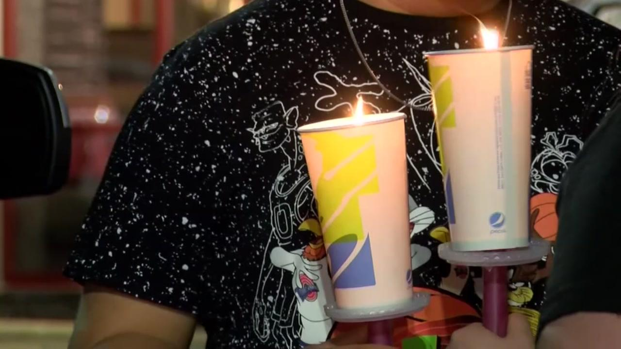 Candlelight vigil for Taco Bell