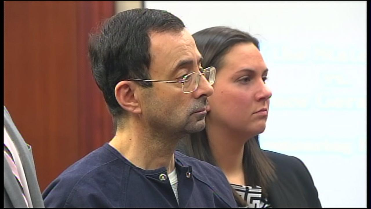 The judge sentence Larry Nassar to 40 to 175 years in prison