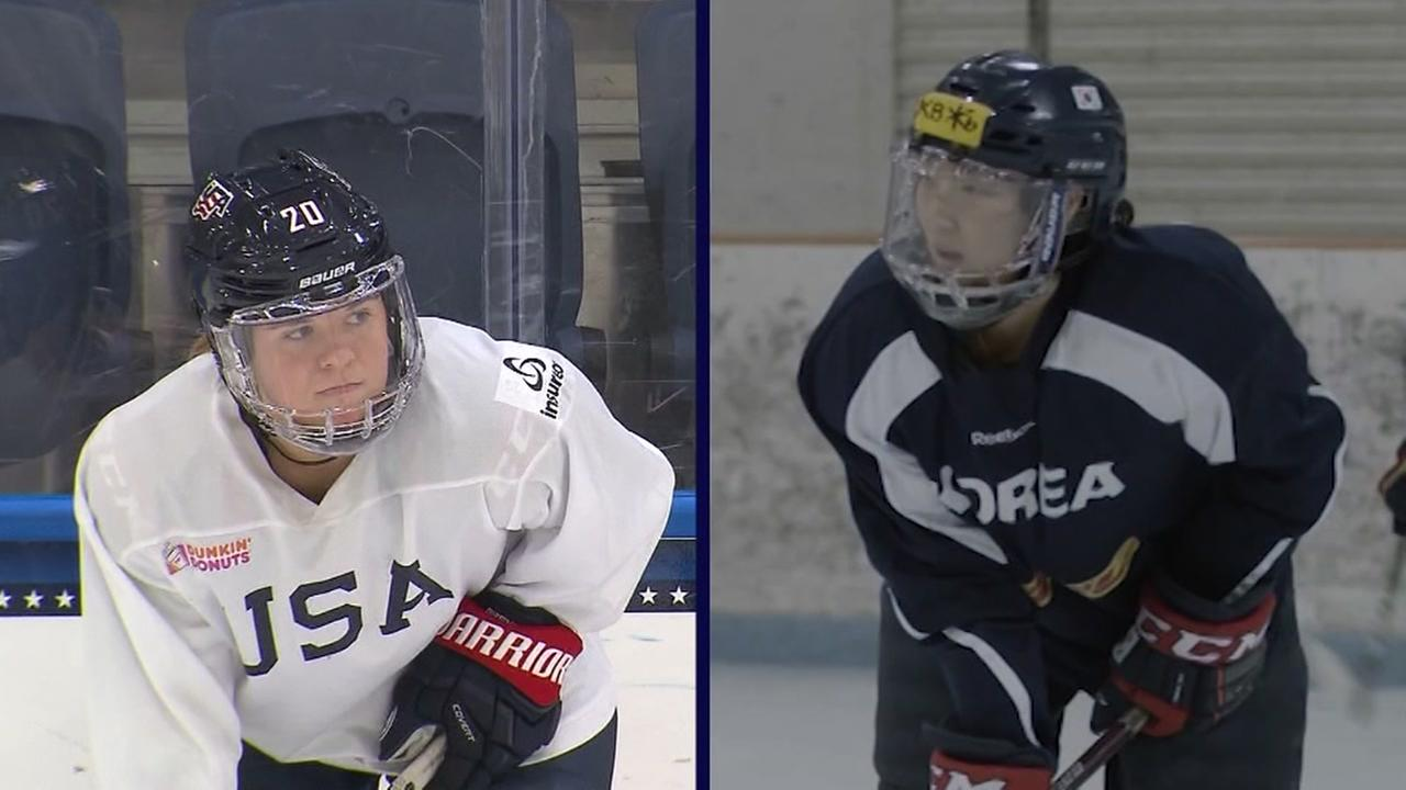 Sisters compete for different nations in Olympics