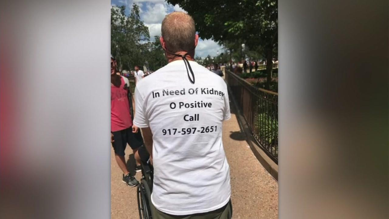 Man gets surgery after In Need of Kidney shirt goes viral