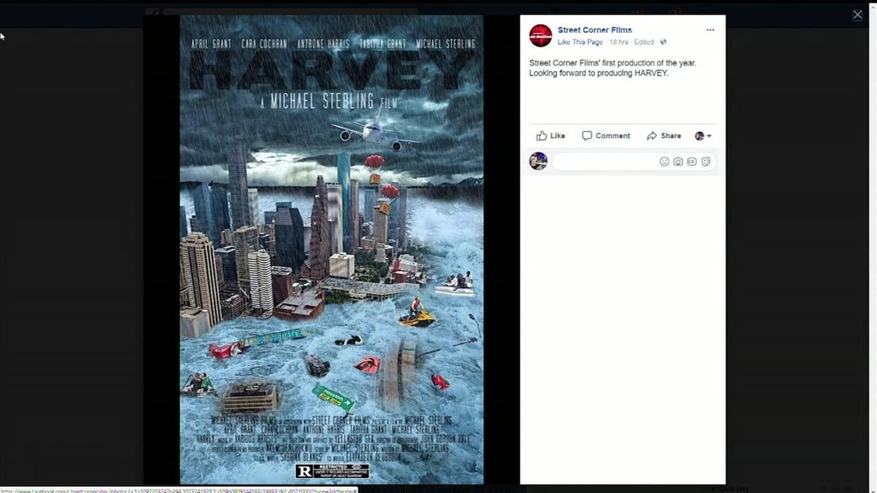Houston filmmaker begins production on Hurricane Harvey movie