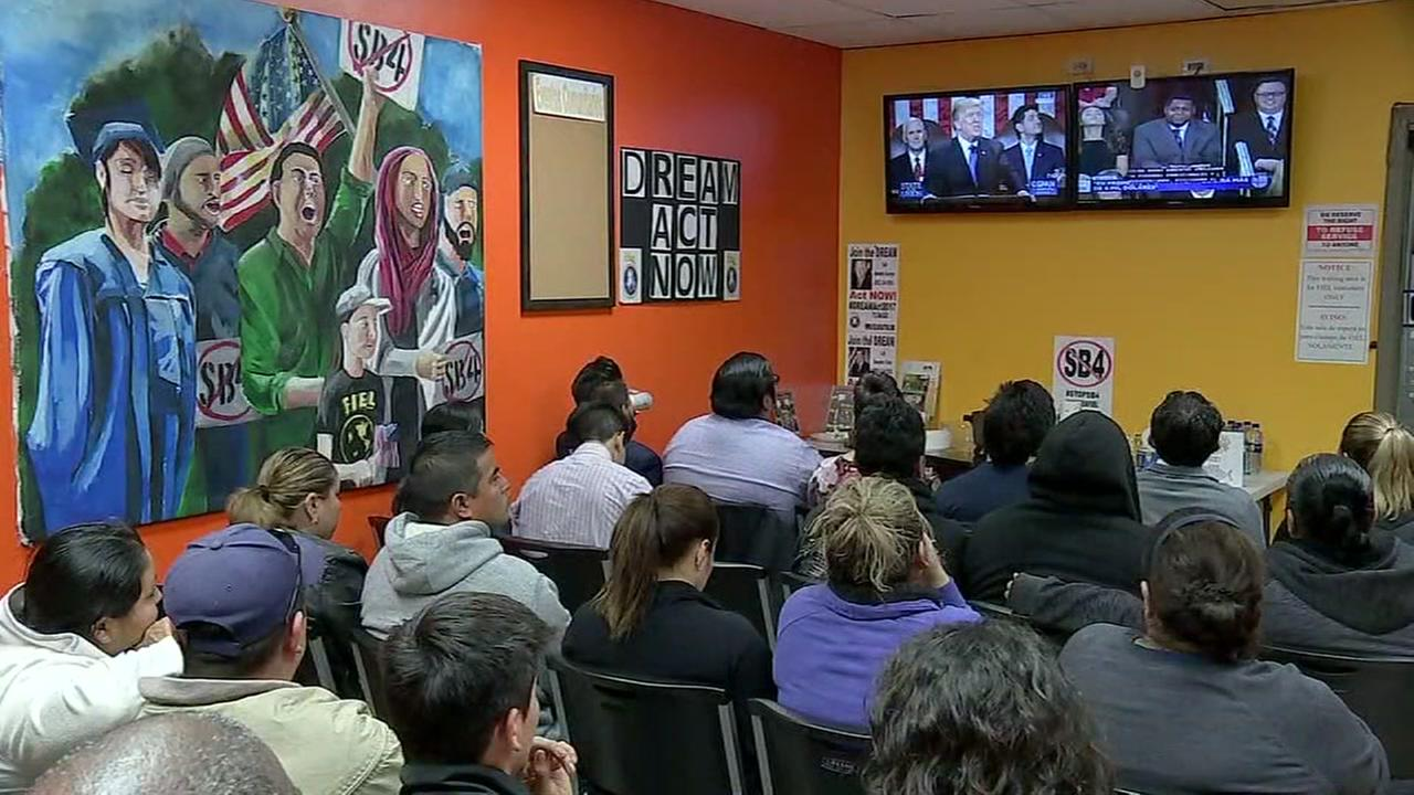 Houstons immigration advocates watch Pres. Trumps State of the Union