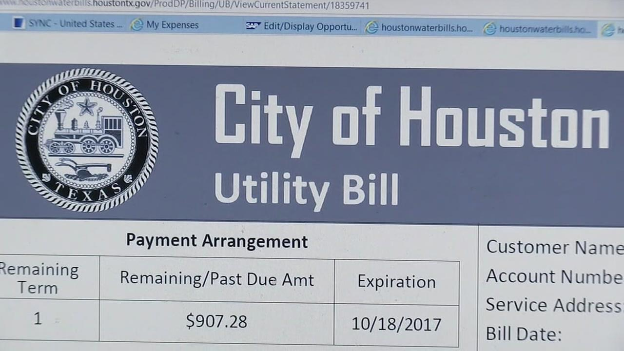 Water bill relief coming in Houston