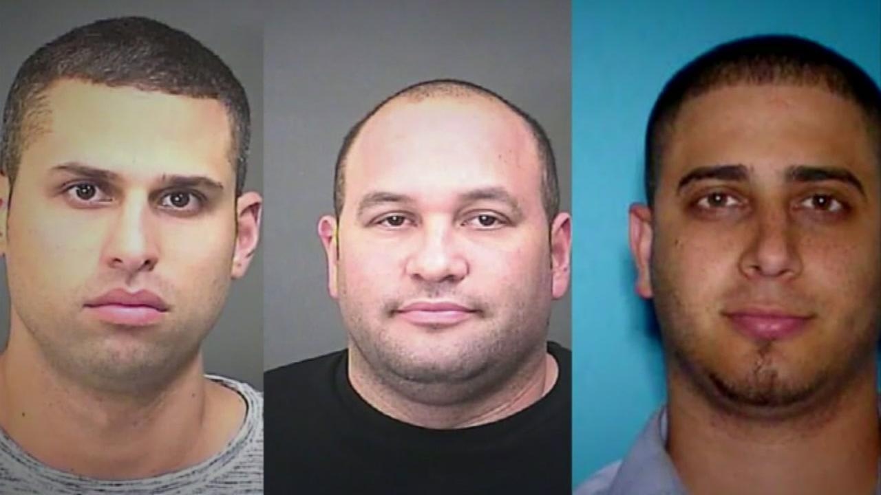 Trio accused of jackpotting Baytown ATM of thousands in cash