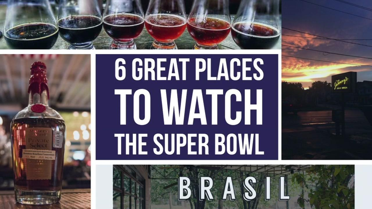 Tired of sports bars, here are some cool spots that are offering something different for Super Bowl sunday