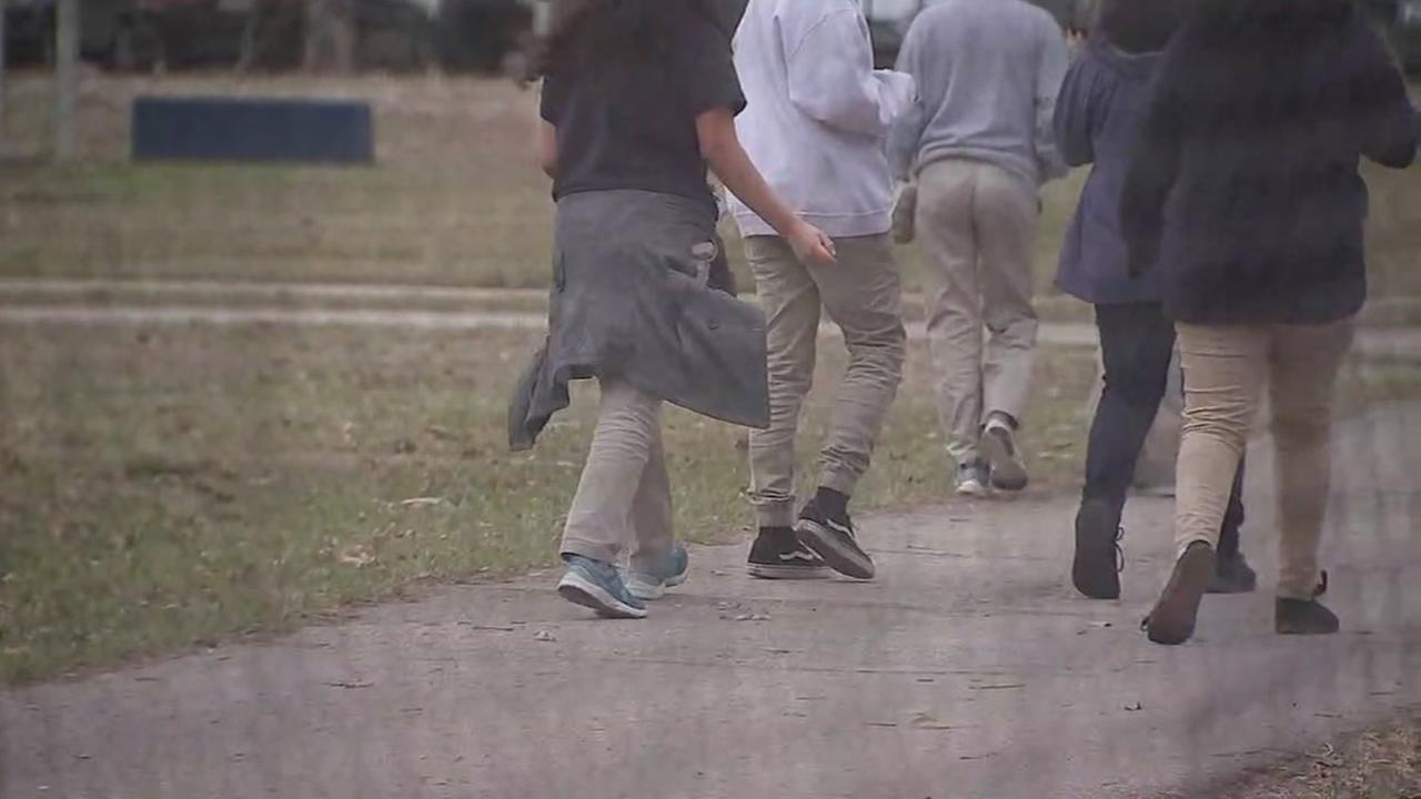 Middle school student runs to school after alleged stabbing