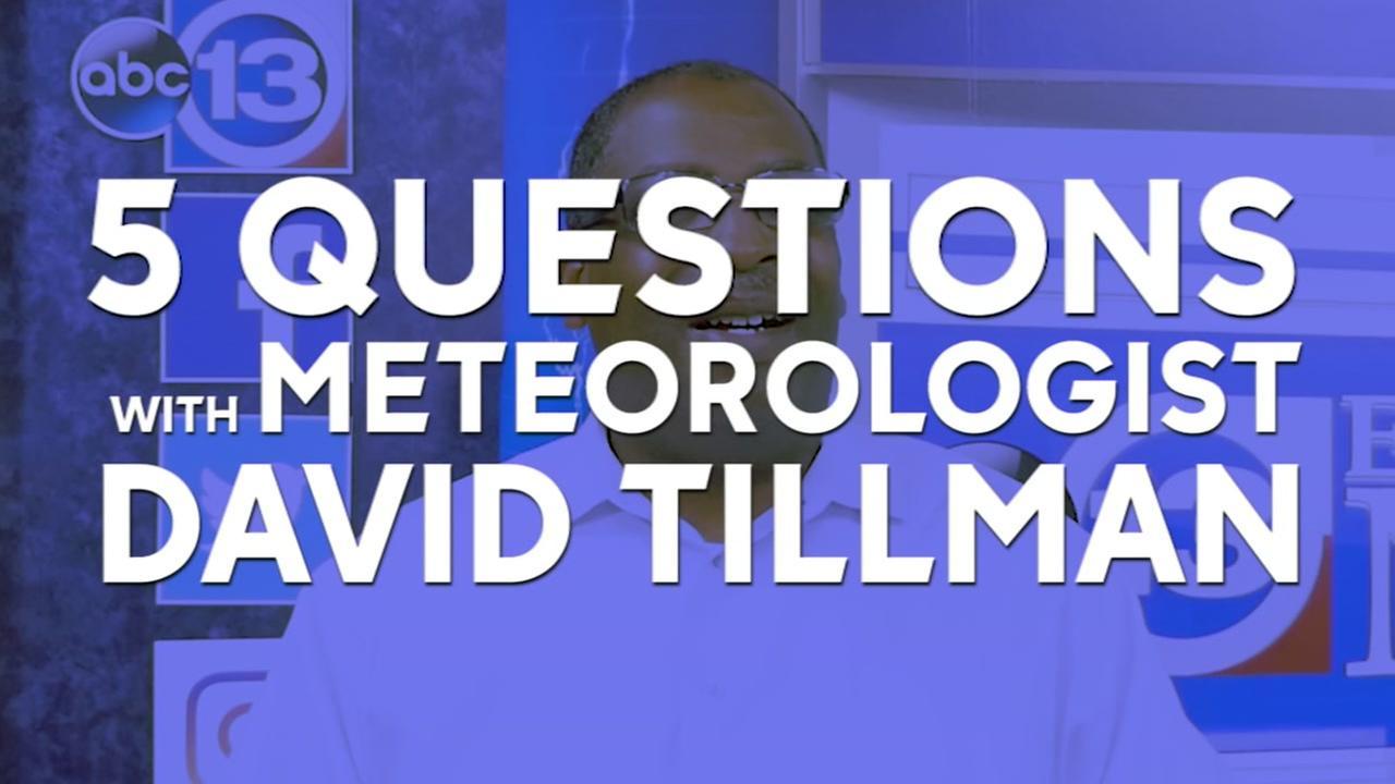 Get to know Meteorlogist David Tillman