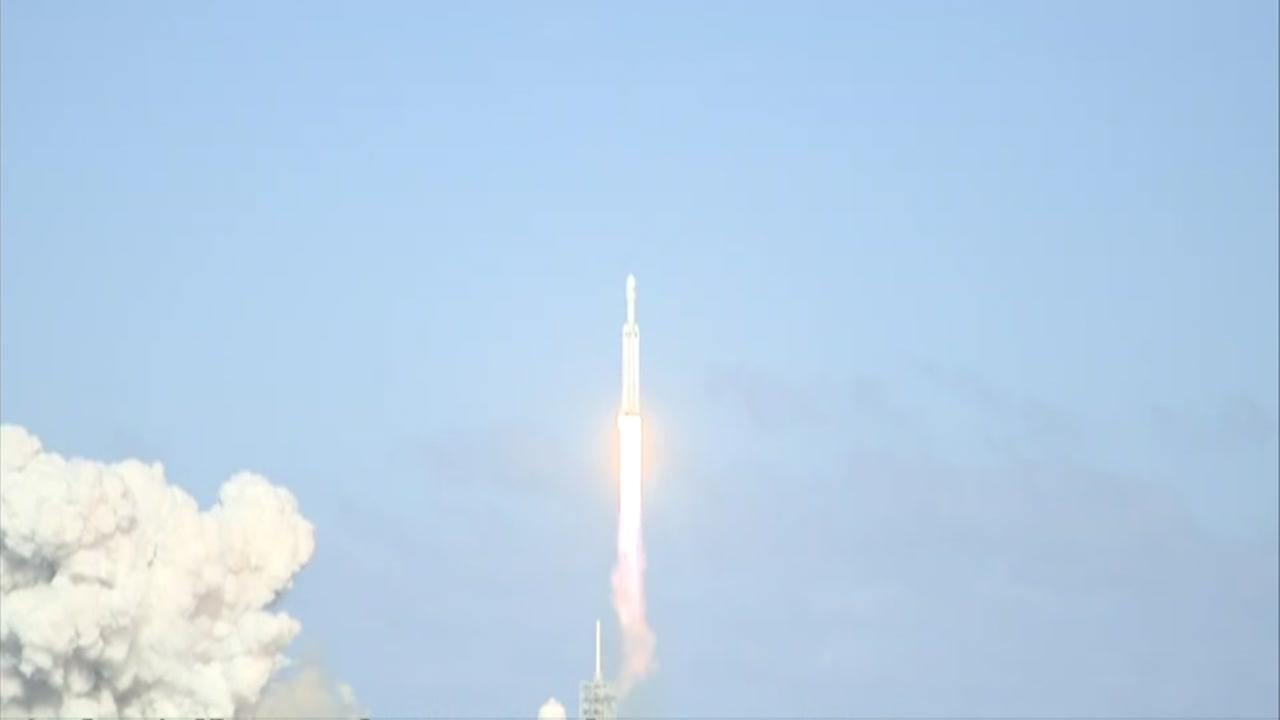 SpaceX launches from Cape Canaveral