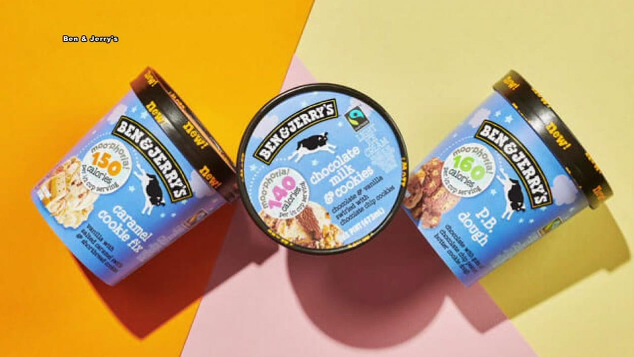 Ben and Jerrys launches low calorie ice cream