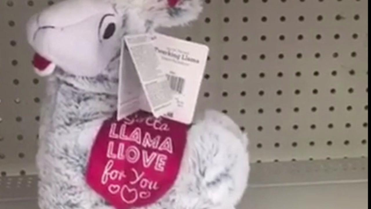 Twerking llama toy is one of the best sellers for Valentines Day