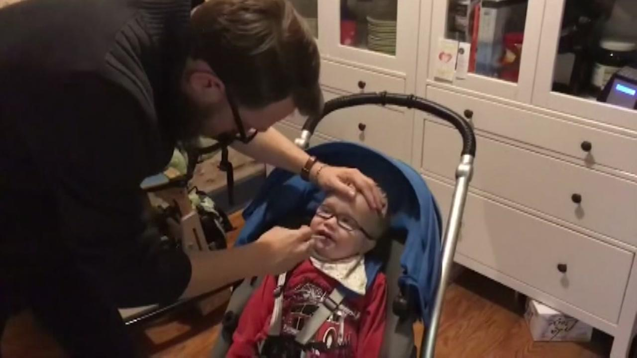 Toddler given marijuana to help with health