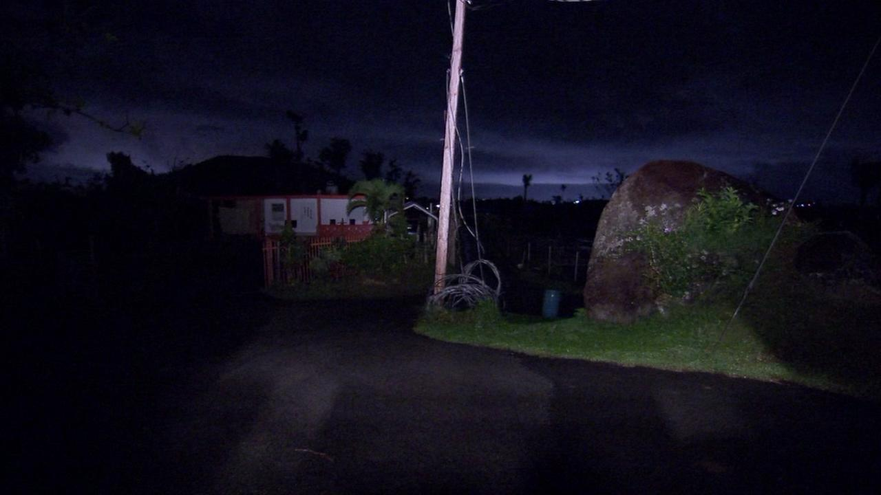Blackout hits northern Puerto Rico following fire, explosion