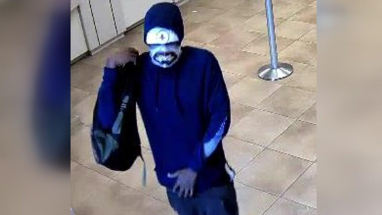 The FBI is searching for this bank robbery suspect