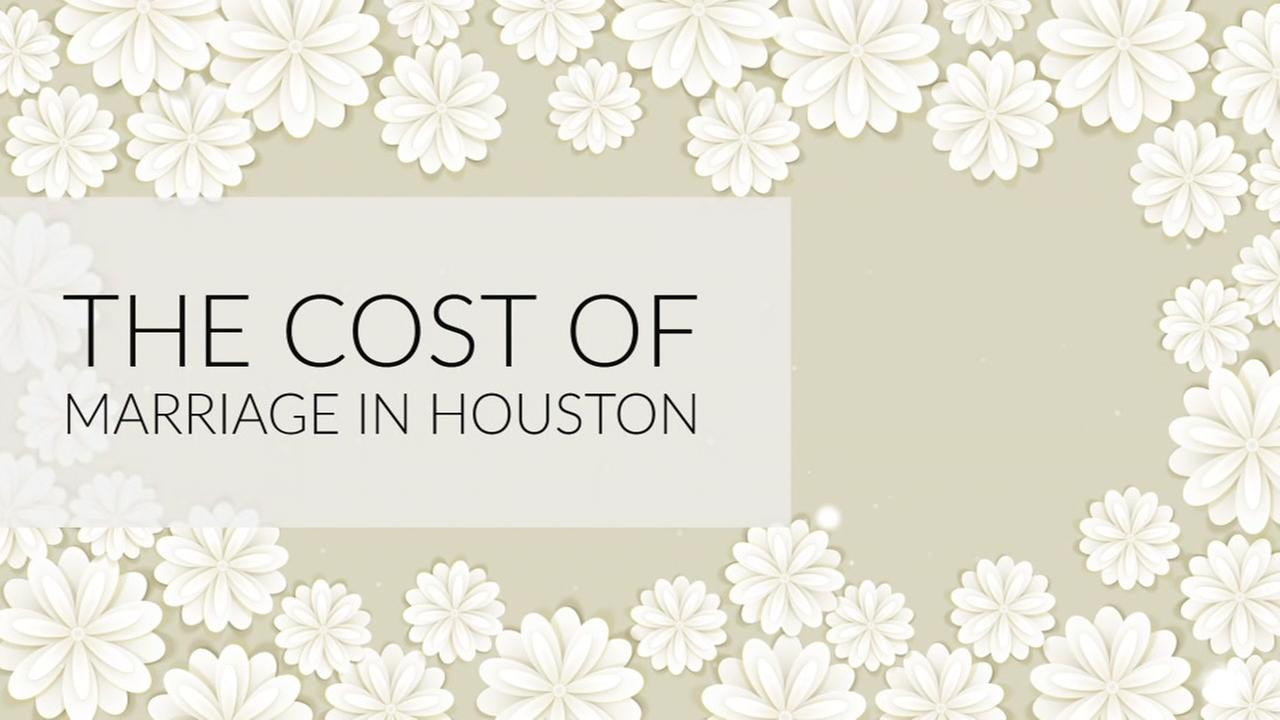 Houston ranks at the top of the list for cheapest and most convenient places to get married