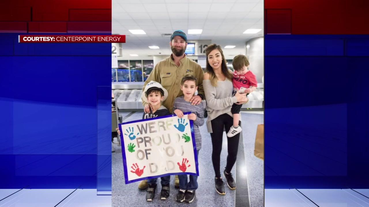 CenterPoint lineman returns to Houston from storm-ravaged Puerto Rico