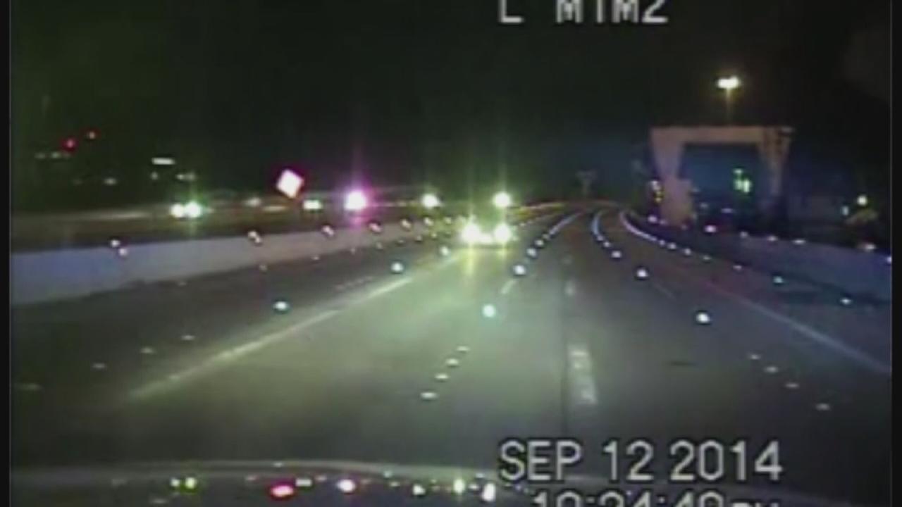 Hero officers stops wrong-way driver
